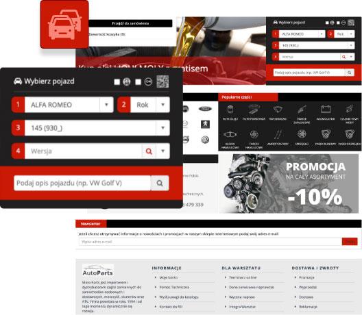 Integra eCommerce WebShop TecDoc