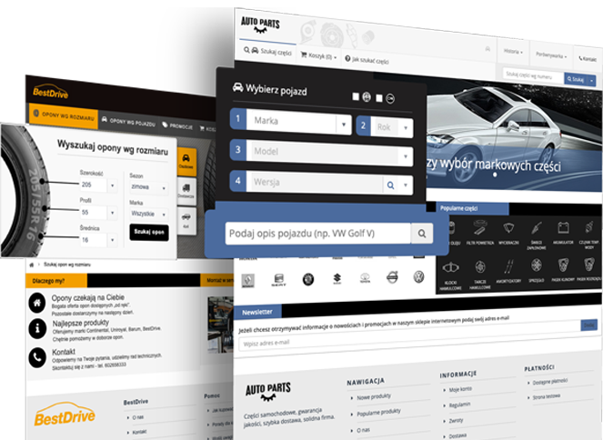 Platformy do sprzedaży opon i cześci zamienyych TecDoc